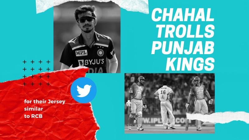 Chahal trolls punjab kings