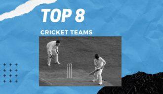 Top 8 cricket teams